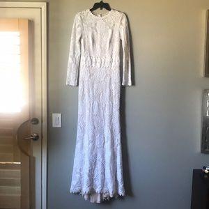 BHLDN Wedding Dress Tadashi Shoji